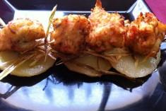 Buñuelos de marisco